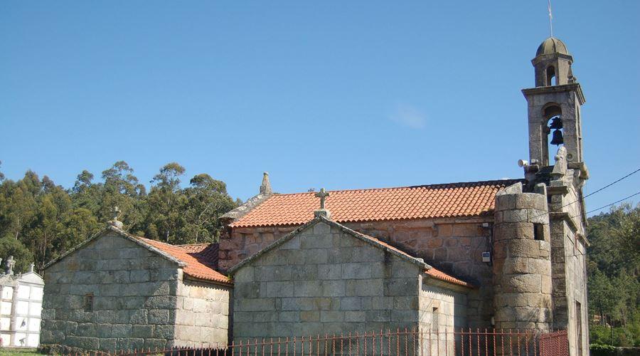 Iglesia Santa María de Besomaño - Visit O Salnés ®