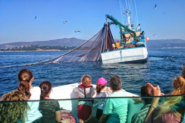 Amare Turismo Náutico - Rutas de las Artes de Pesca - Visit O Salnés ®