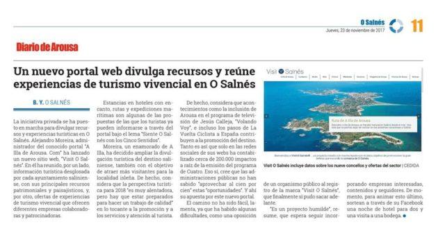 Visit O Salnés ® - Diario de Arousa