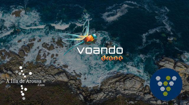 Voando drone #VisitOSalnésPremium by Visit O Salnés ®